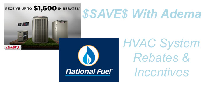 HVAC System Rebates & Incentives