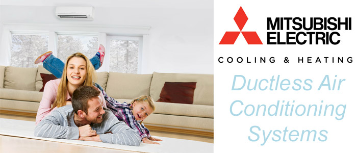 Mitsubishi Ductless Air Conditioning Systems