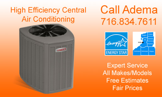 Central Air Conditioner, High Velocity Air Conditioner, & Ductless Air Conditioning System Sales, Installation & Service, Buffalo, NY & WNY