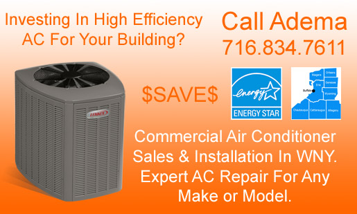 Commercial Air Conditioner Sales & Repair Services, Buffalo, NY & WNY
