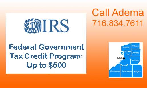 Federal Tax Credit Program for High-Efficiency Heating & Cooling Products, 2016
