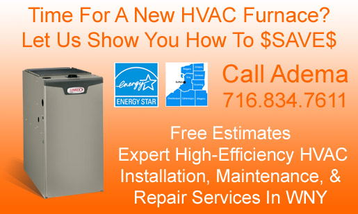 Residential Gas Furnace Sales, Installation, Maintenance, & Repair Services For Buffalo, NY & WNY
