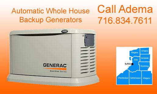 Generac Guardian Automatic Whole House Generators Sales, Installation, U0026  Service, Buffalo, NY