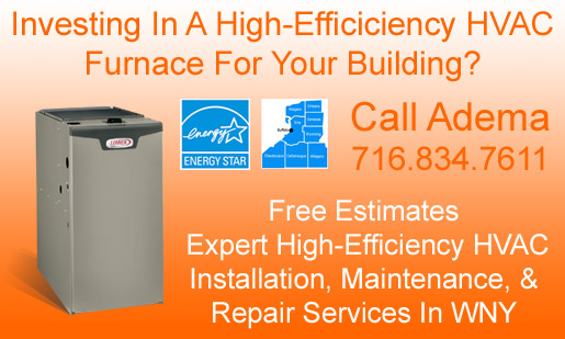 Commercial High Efficiency HVAC Gas Furnace Sales, Installation, Maintenance, & Repair Services In Buffalo, NY & WNY