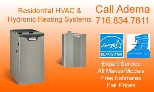 Central Heating Contractors, Buffalo, NY & WNY
