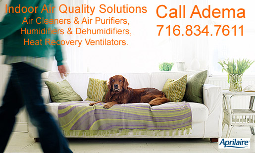 Residential Indoor Air Quality Systems Sales, Installation, & Service, Buffalo, NY & WNY
