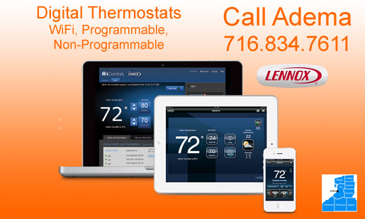 Lennox iComfort WiFi Programmable Thermostat Sales, Service, Installation - Buffalo, NY
